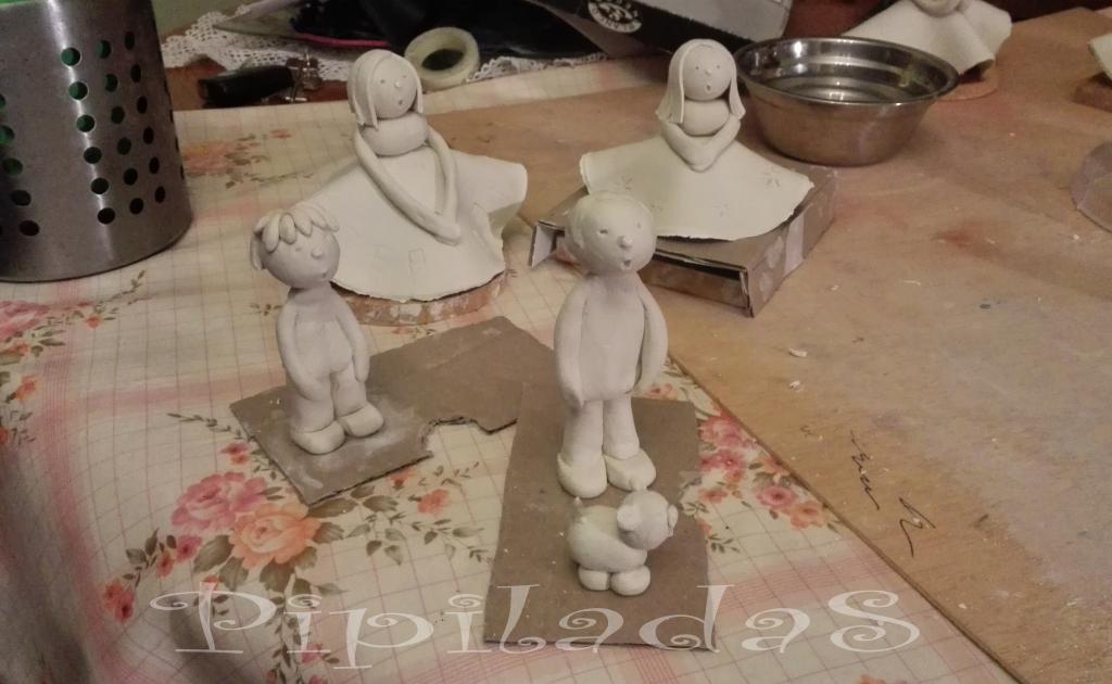 como hacer figuras pasta de papel