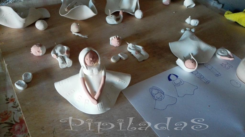 cómo hacer figuras de pasta de papel pipiladas