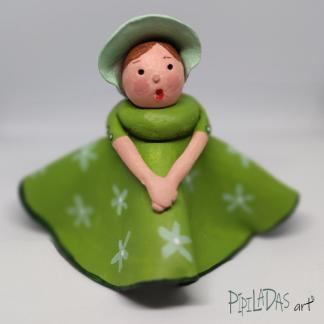 muñeca pasta papel 0301 pipiladas art