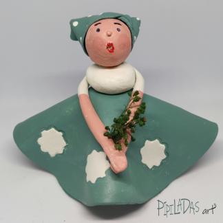 muñeca pasta papel 1301 pipiladas art