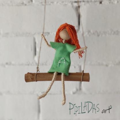 muñeca personalizada hecha a mano